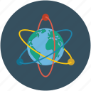 atom, atomic, nuclear, science icon