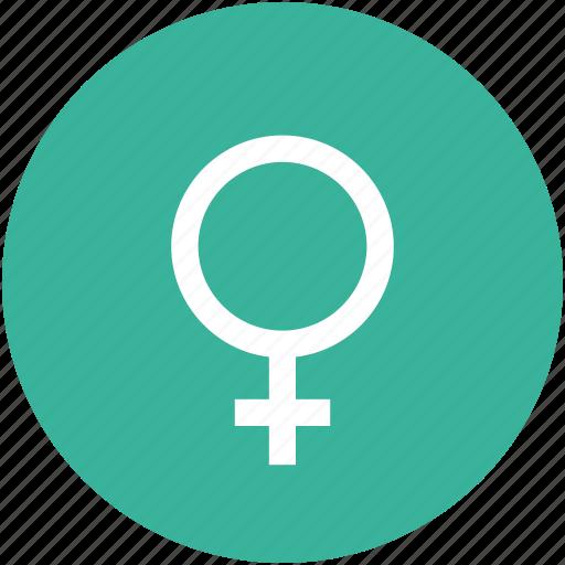 female, female sign, gender, sex icon
