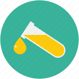 lab test, medical test, urine drop, urine test tube icon