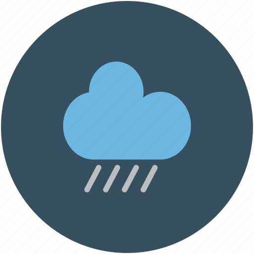 cloud, rain, raining, weather icon