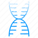 dna, laboratory, research, science, scientific, structure icon
