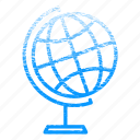 earth, globe, laboratory, research, science, scientific icon
