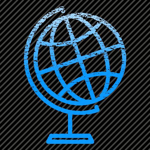 earth, globe, laboratory, research, science, scientific icon