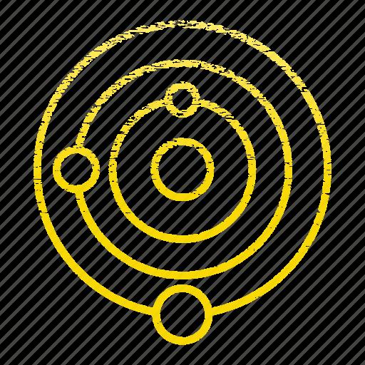 laboratory, research, science, scientific, solar, system icon