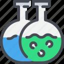 chemistry, flasks, science, test, tube