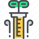 chemistry, flasks, laboratory, science, test, tube icon