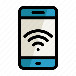 digital, phone, screen, setting, wi-fi, wifi icon