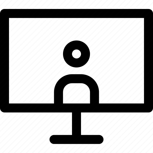 avatar, computer, internet, media, screen, tv, user icon