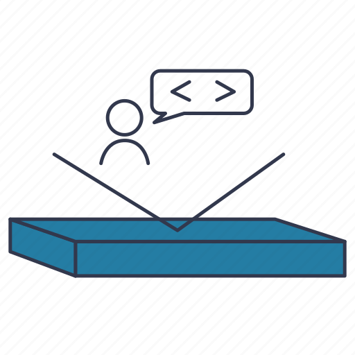pointer, scrum, sprint story icon