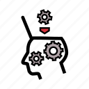 agile, artificial intelligence, big, data, machine learning, robot, scrum icon