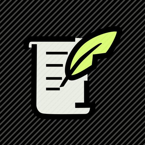 agile, author, content, design, scrum, website, writer icon