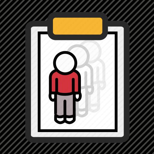 agile, centred, clipboard, experience, researcher, scrum, user icon
