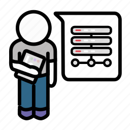 agile, backend, developer, java, python, ruby, scrum icon