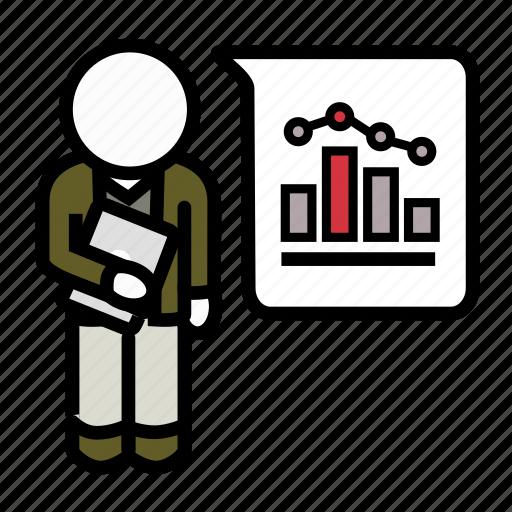 agile, data, probability, scientist, scrum, statistics, stats icon