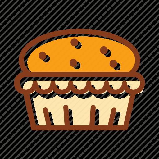 bakery, bread, cake, cookies, cupcake, dessert, pastry icon