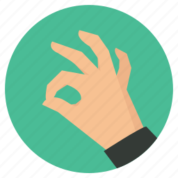 dive sign, diving, equipments, hand, ok, scuba, sign icon
