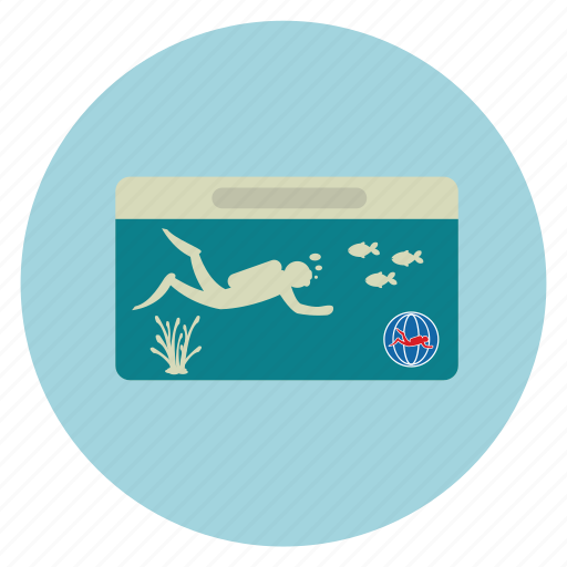 card, certificate, certification, dive license, diving, equipments, id card, license, scuba, scuba certification icon