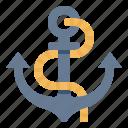 boat, anchor, ship, device