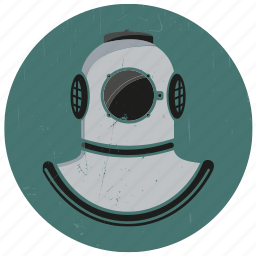 diver, diving, diving suit, marine, old diver, old diving suit, sealife icon