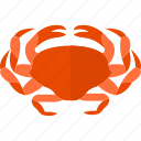crab, fish, food, sea icon
