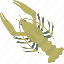animal, crab, fish, food, sea icon