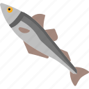 animal, fish, food, sea icon