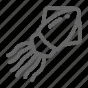 life, octopus, sea, squid icon