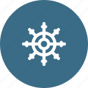 boat, rudder, seiling, ship, travelling, wheel icon