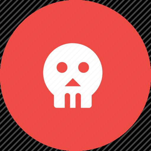 Dark, halloween, human, scary, sea, skull icon - Download on Iconfinder