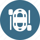 boat, ship, sports, surfing, water icon