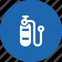 diver, diving, oxygen, scuba, tank icon