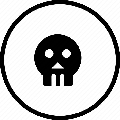 dark, halloween, human, scary, sea, skull icon
