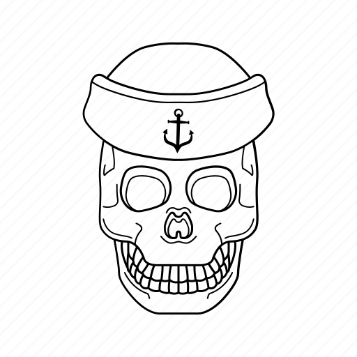 bone, danger, halloween, skull icon icon