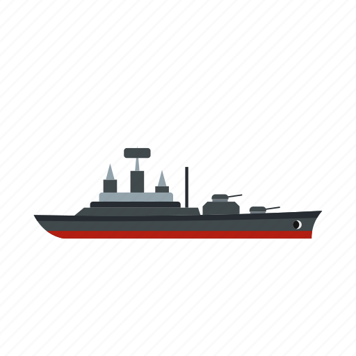 Boat, ocean, sail, sea, warship, yacht, yachting icon - Download on Iconfinder