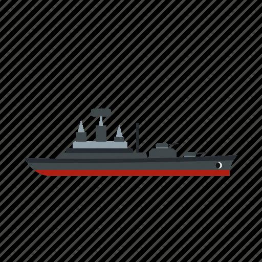 boat, ocean, sail, sea, warship, yacht, yachting icon