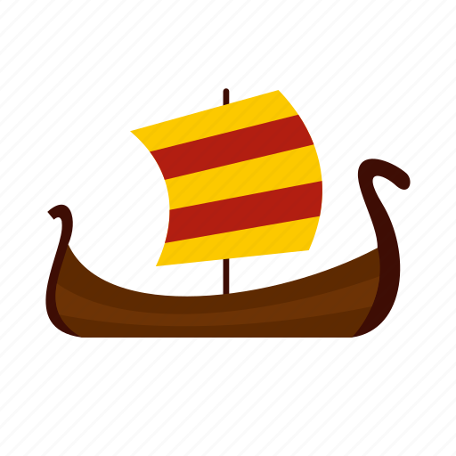 boat, medieval, ocean, sail, sea, yacht, yachting icon