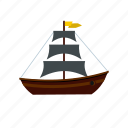 boat, nautical, ocean, sail, sea, yacht, yachting icon