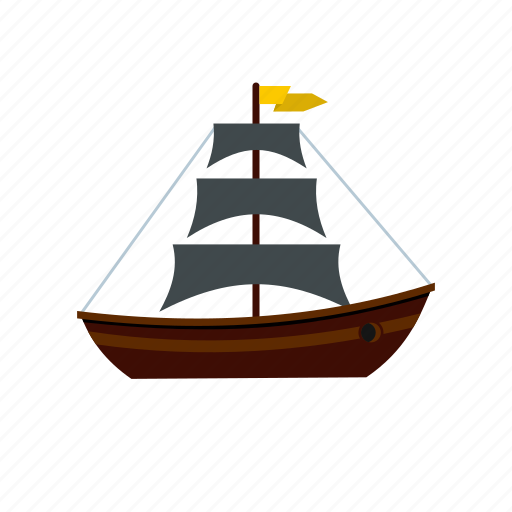 Boat, nautical, ocean, sail, sea, yacht, yachting icon - Download on Iconfinder