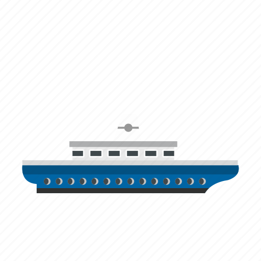 Boat, ocean, passenger, sea, ship, yacht, yachting icon - Download on Iconfinder