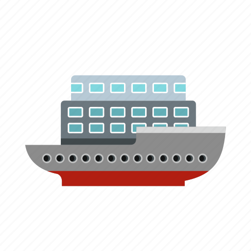 boat, large, ocean, passenger, sea, ship, yacht icon
