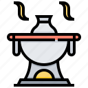 food, hot, pot, seafood icon