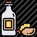 beverage, bottle, ebi, food, restaurant, seafood icon