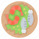 ebi, food, fry, prawn, seafood, shrimp icon