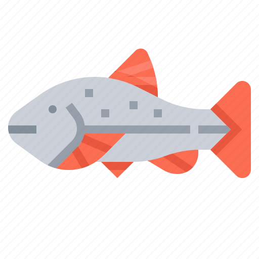 animal, fish, seafood, trout icon