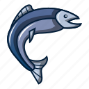animal, aquarium, aquatic, cartoon, logo, object, tuna