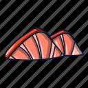 cartoon, logo, object, ocean, sea, seashell, shell