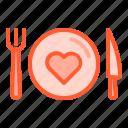 food, fork, health, knife, plate