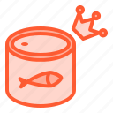 fish, packaging, premium, product, seafood icon
