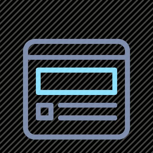 Browser, design, development, seo, web, webpage, website icon - Download on Iconfinder