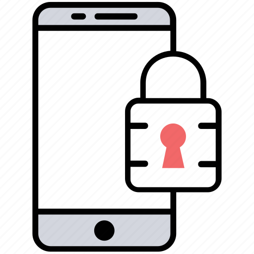 Cellphone insurance, mobile data protection, mobile protection, mobile screen lock, phone security icon - Download on Iconfinder